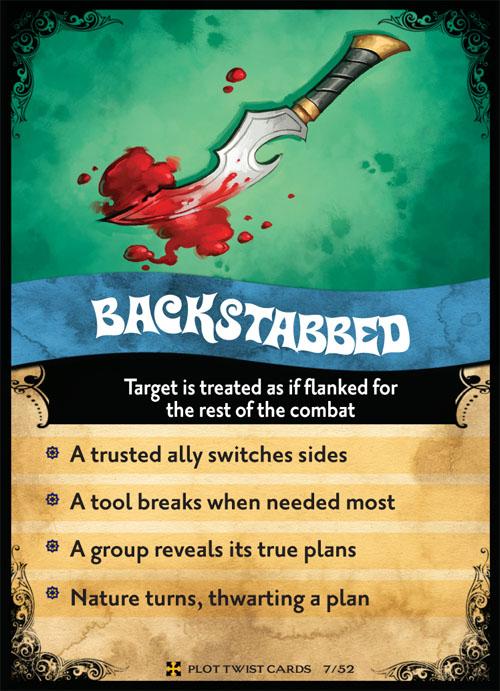 paizo.com - GameMastery Plot Twist Cards