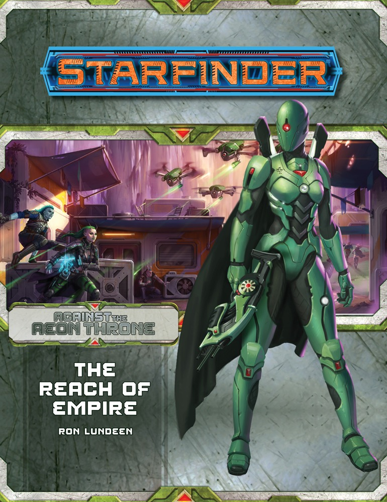 SF AP 007: Against the Aeon Throne, Part 1: The Reach of Empire cover art