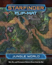 Jungle World: Starfinder Flip-Mat Starship  -  Paizo Publishing