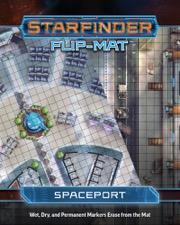 Spaceport: Starfinder Flip-Mat Starship -  Paizo Publishing