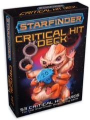 Starfinder Critical Hit Deck -  Paizo Publishing