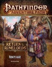 Runeplague: Pathfinder Adventure Path 135 : Return of the Runelords 3 of 6 - Paizo Publishing