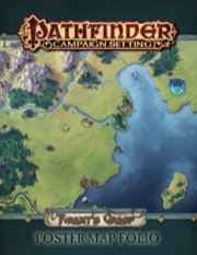 The Tyrants Grasp Poster Map Folio: Pathfinder Campaign Setting -  Paizo Publishing
