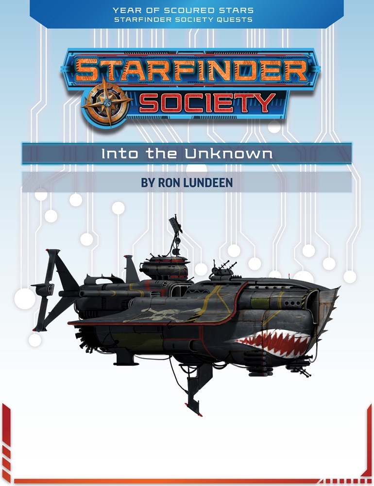 SFS Quest 1-1: Into the Unknown cover art
