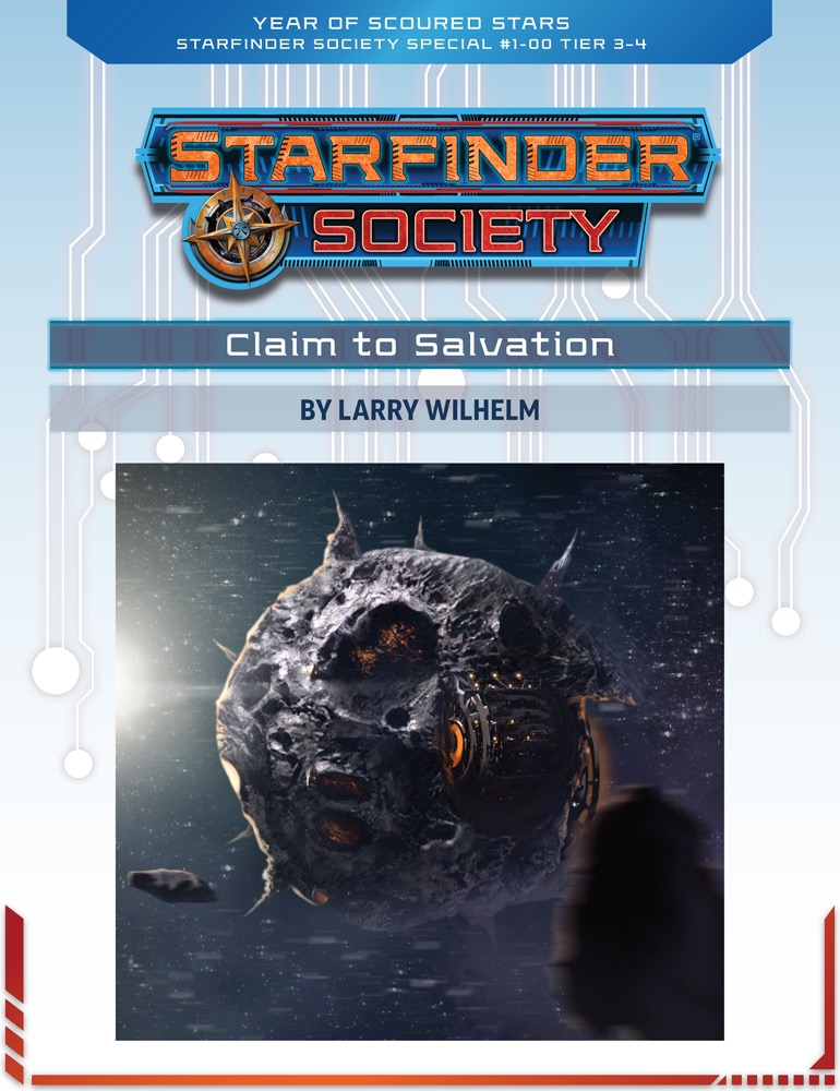 SFS 1-00: Claim to Salvation cover art