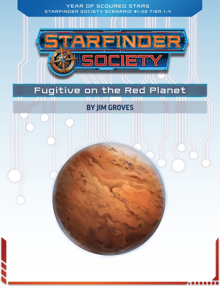 SFS 1-02: Fugitive on the Red Planet cover art