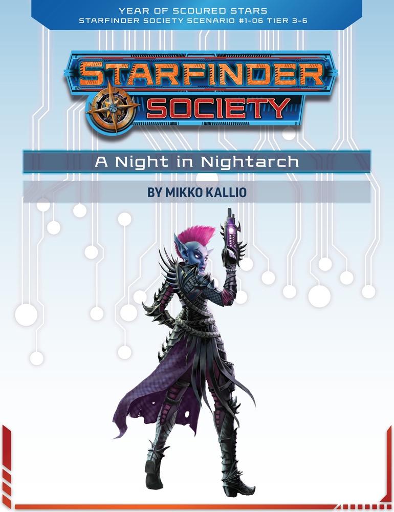SFS 1-06: A Night in Nightarch cover art