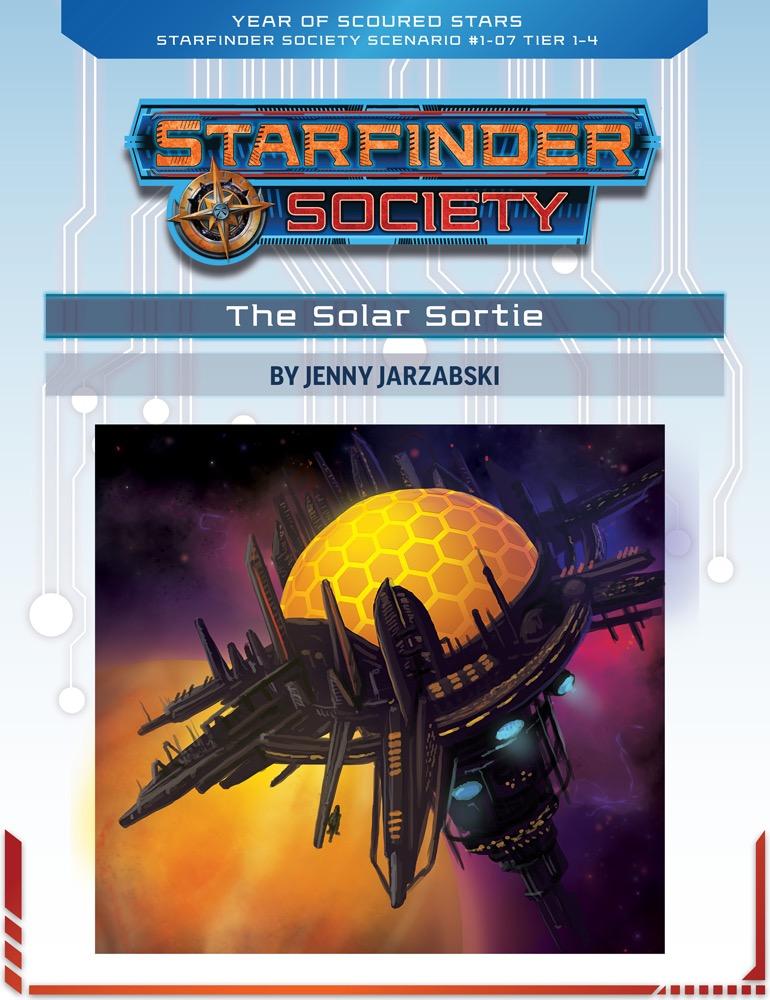 SFS 1-07: The Solar Sortie cover art