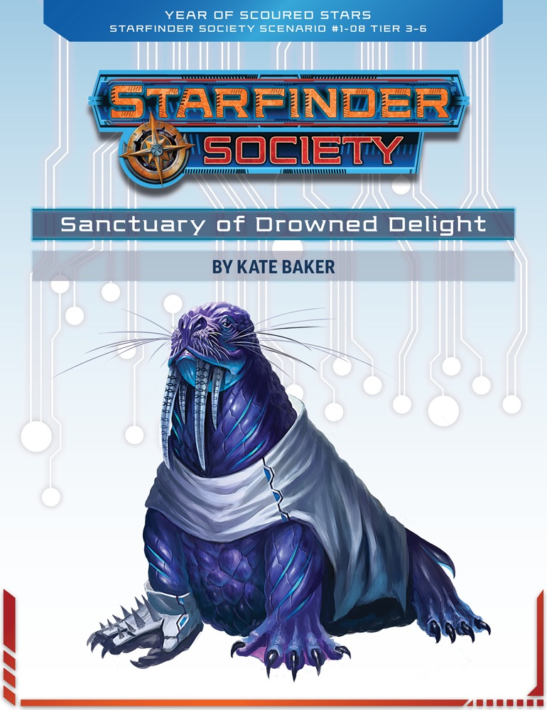 SFS 1-08: Sanctuary of Drowned Delight cover art