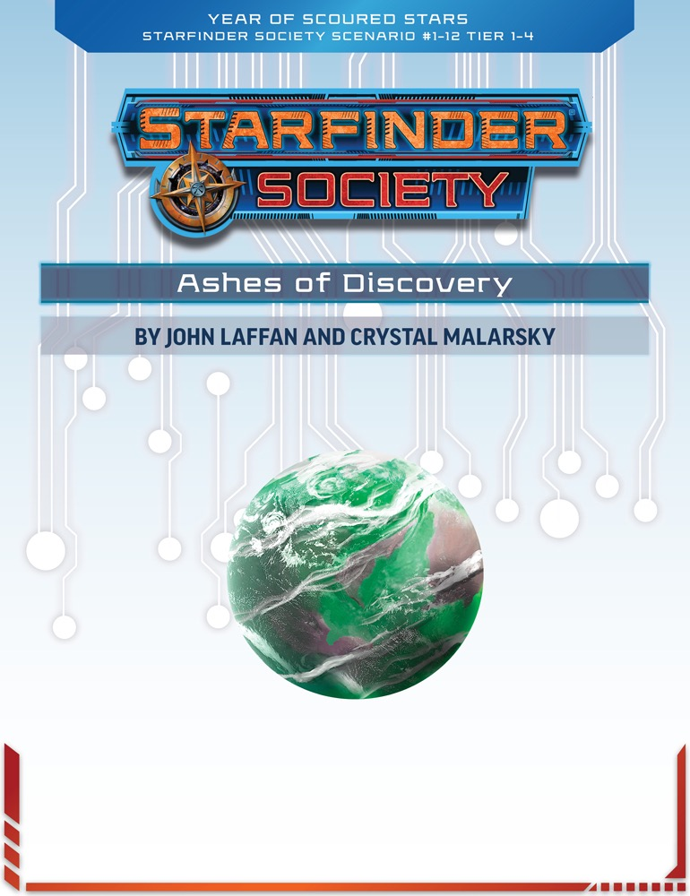 SFS 1-12: Ashes of Discovery cover art
