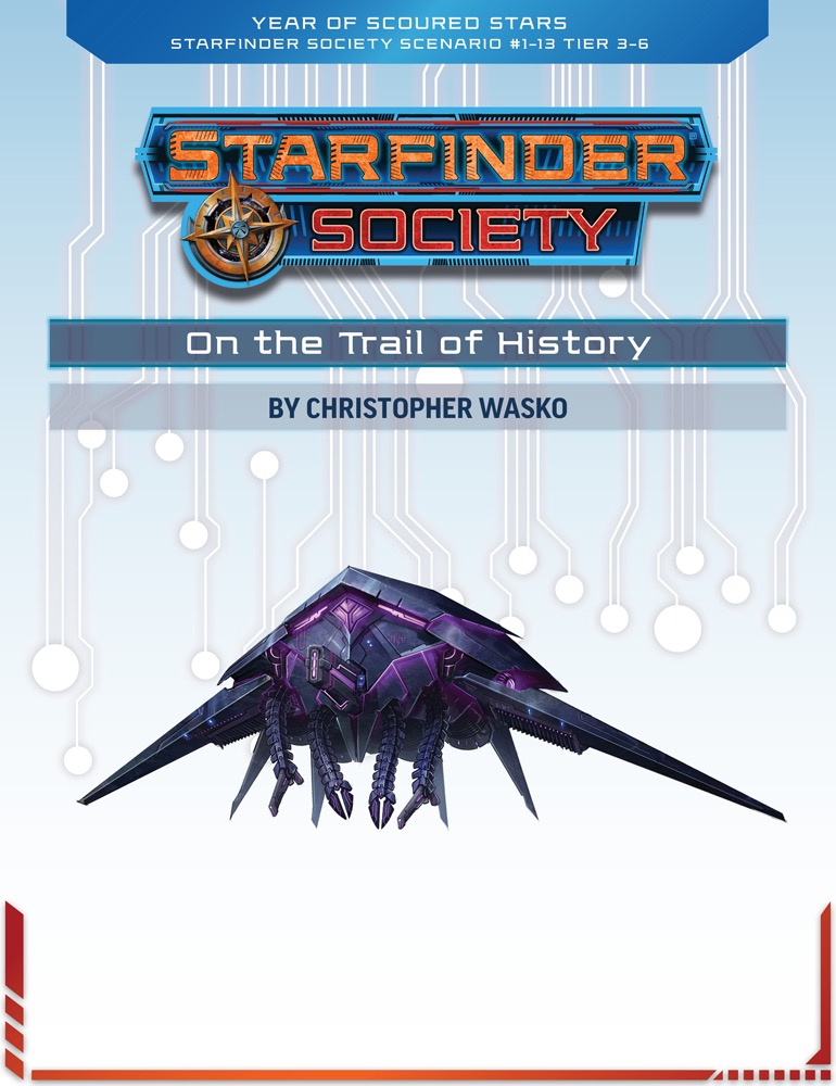 SFS 1-13: On the Trail of History cover art