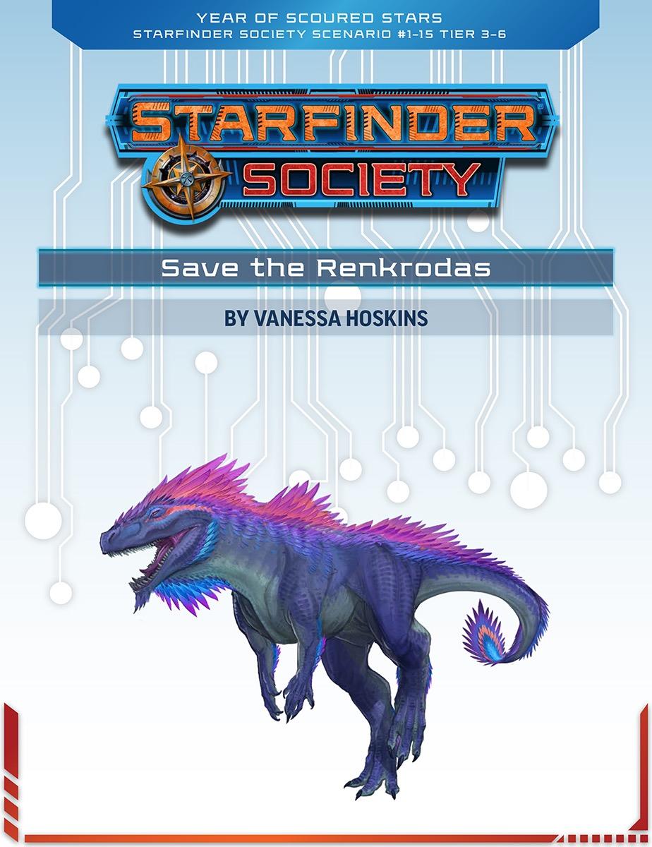 SFS 1-15: Save the Renkrodas cover art