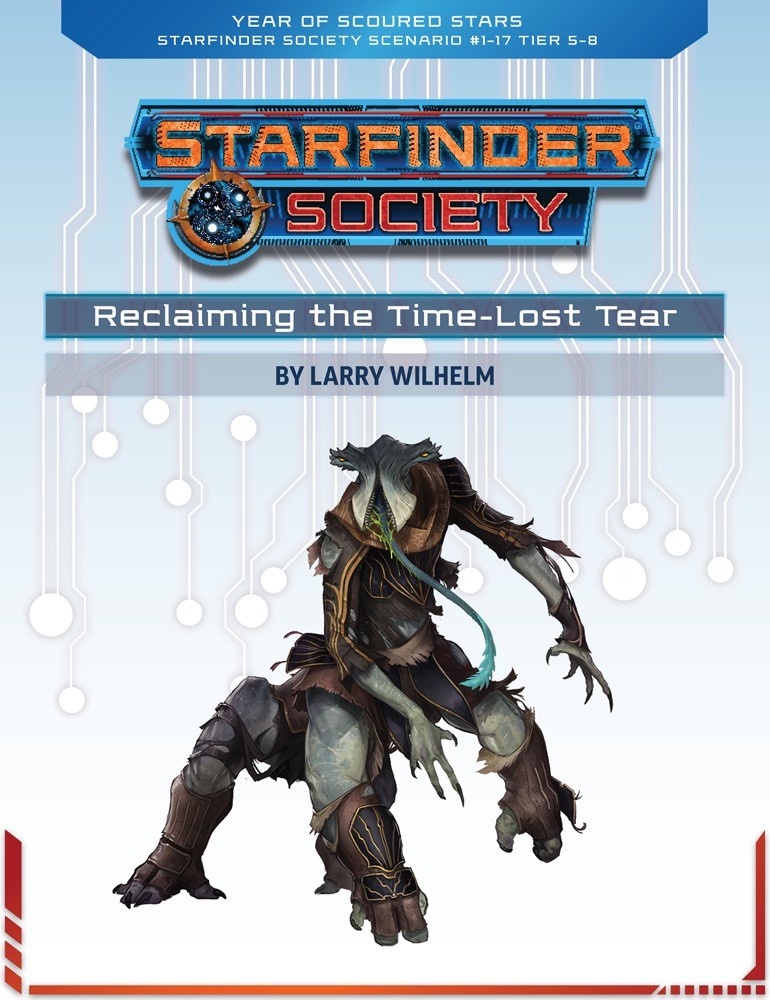 SFS 1-17: Reclaiming the Time-Lost Tear cover art