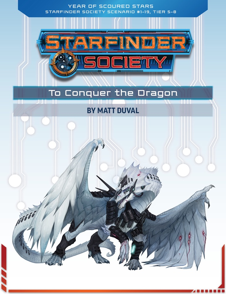 SFS 1-19: To Conquer the Dragon cover art