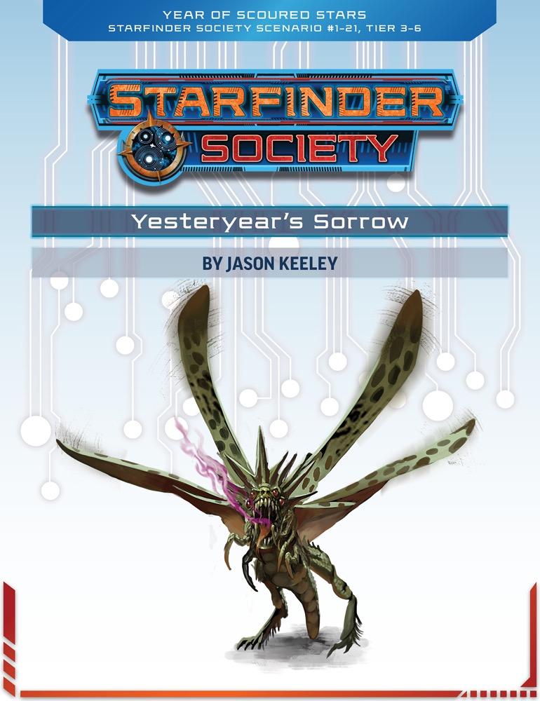 SFS 1-21: Yesteryear's Sorrow cover art