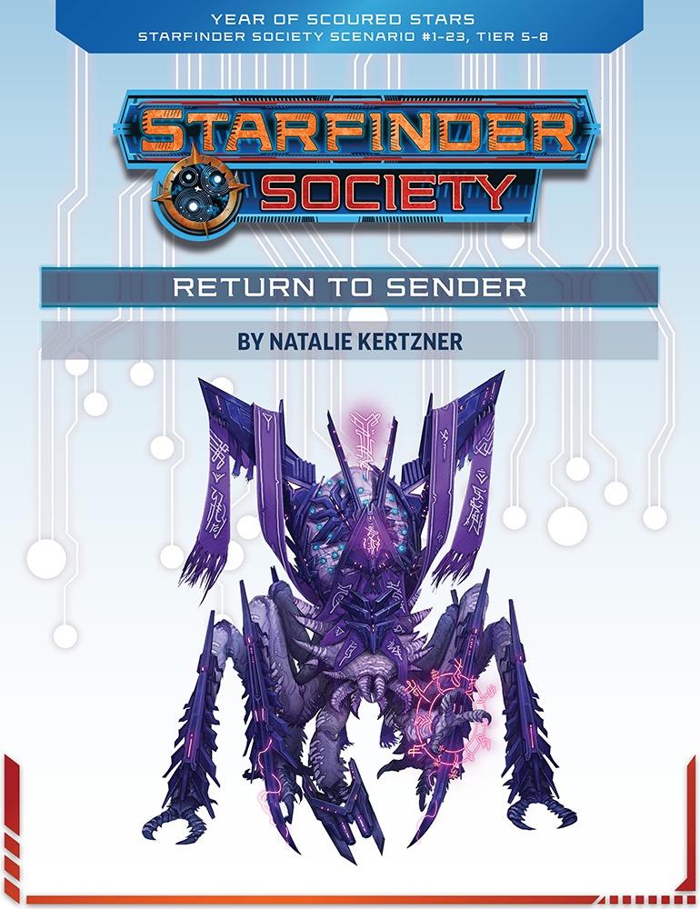 SFS 1-23: Return to Sender cover art