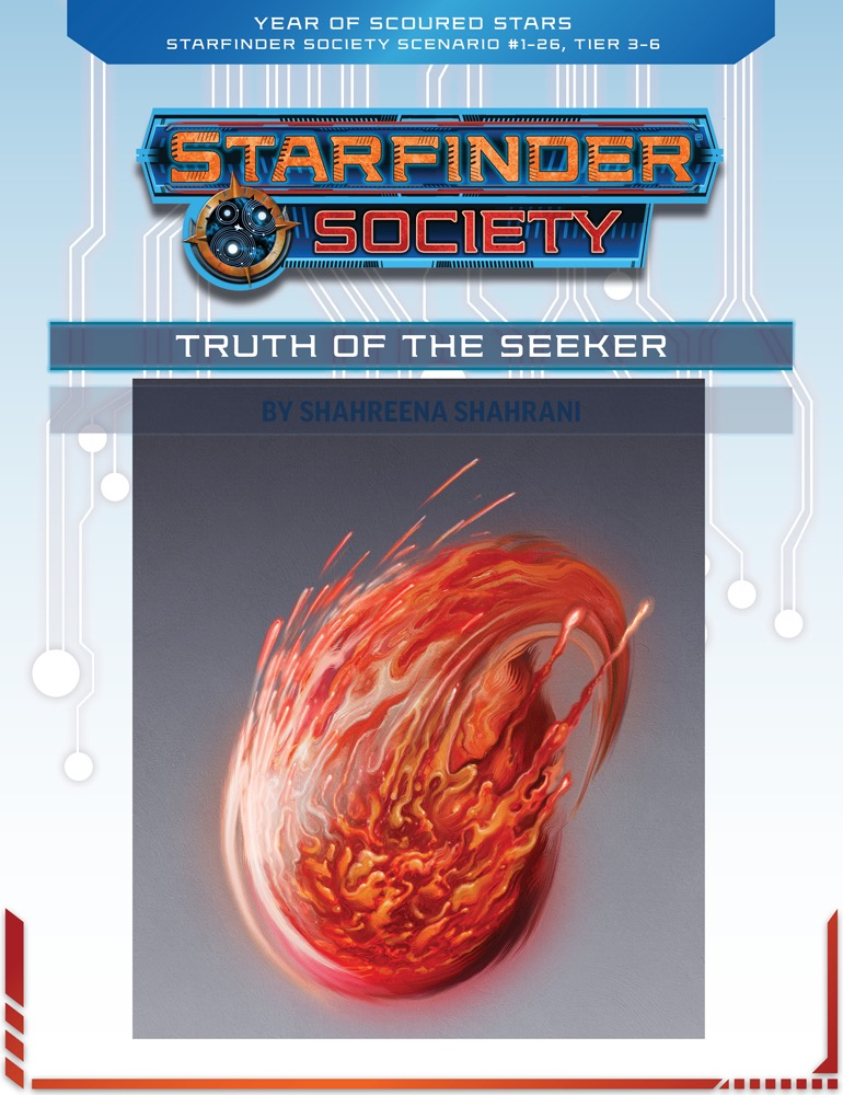 SFS 1-26: Truth of the Seeker cover art