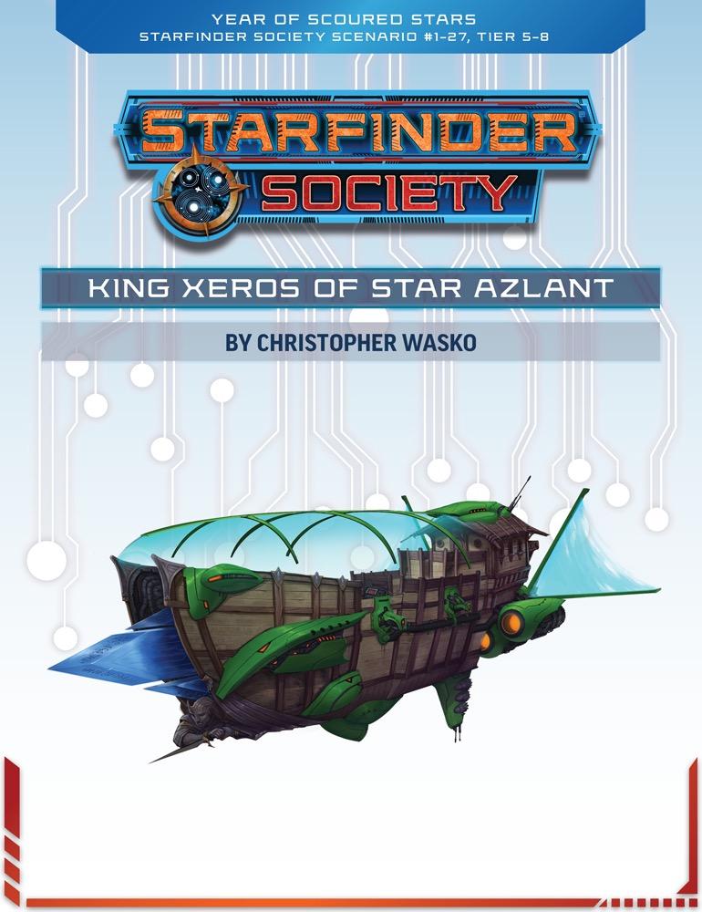 SFS 1-27: King Xeros of Star Azlant cover art