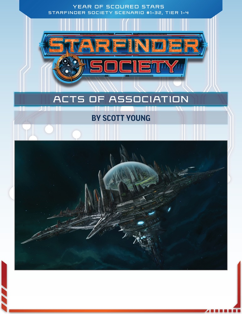 SFS 1-32: Acts of Association cover art
