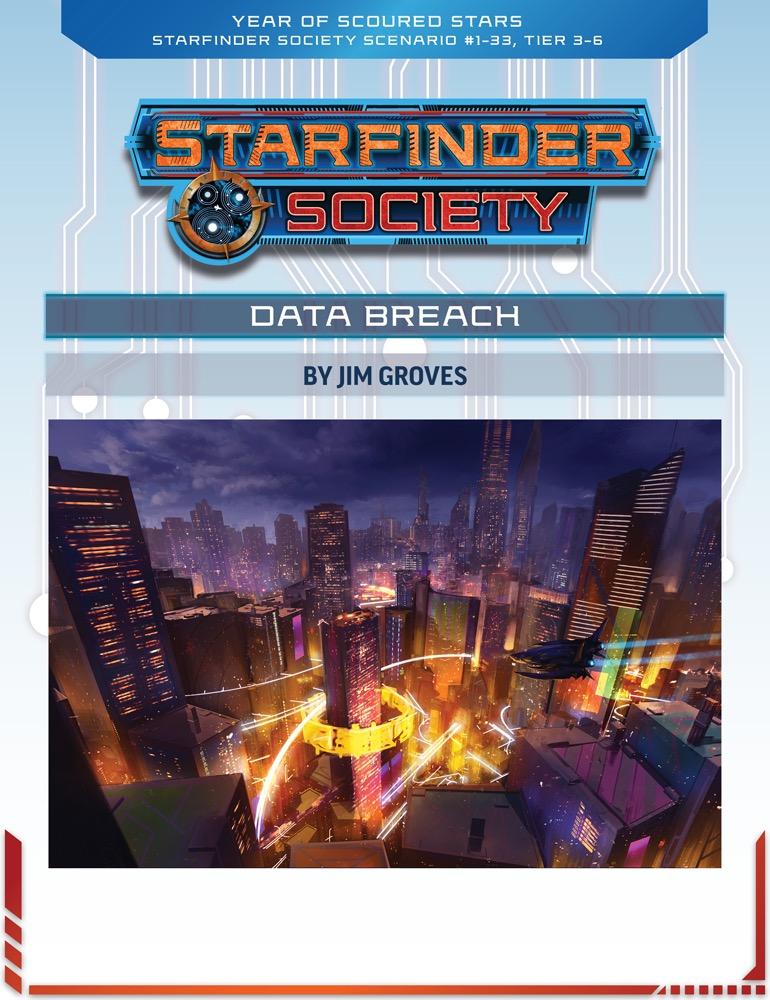 SFS 1-33: Data Breach cover art