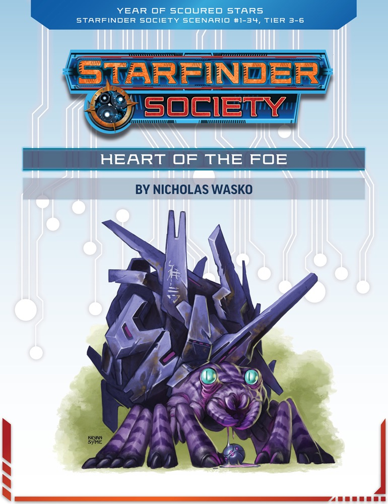 SFS 1-34: Heart of the Foe cover art