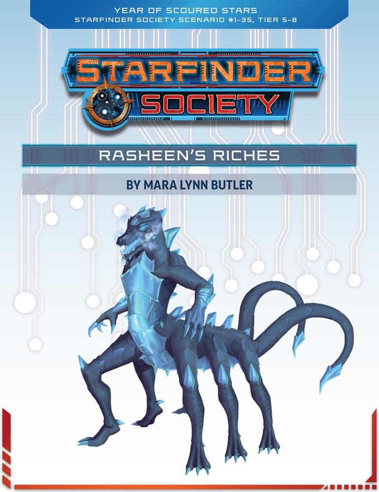 SFS 1-35: Rasheen's Riches cover art