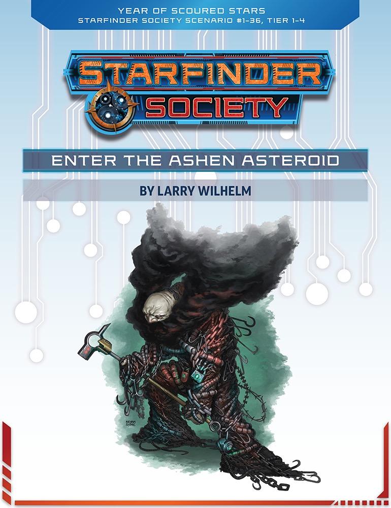 SFS 1-36: Enter the Ashen Asteroid cover art