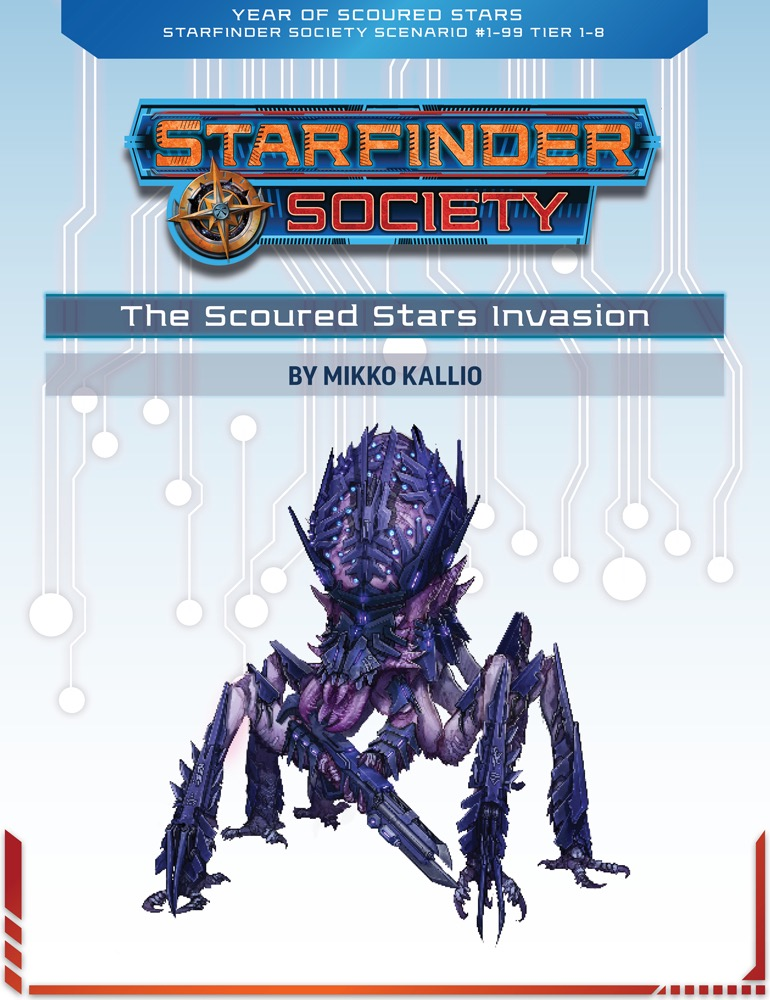 SFS 1-99: The Scoured Stars Invasion cover art