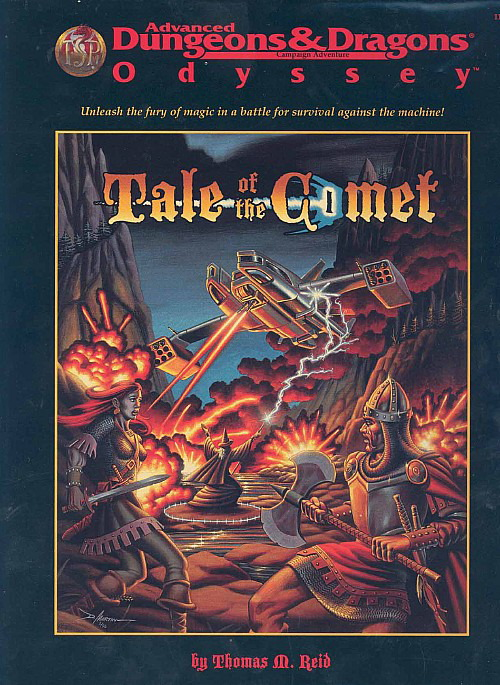 Cover of Tale of the Comet