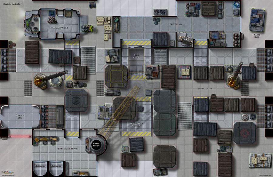 Paizo Com Maps Of Mastery Mass Transit Ii Cargo Docks
