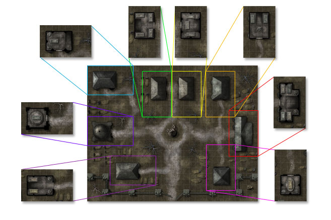 Paizo Com Gamemastery Map Pack Crypts