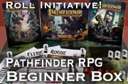 Roll initiative! Pathfinder RPG Beginner Box!