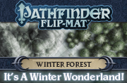 Pathfinder Flip-Mat: Winter Forest