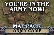 Pathfinder Map Pack: Army Camp