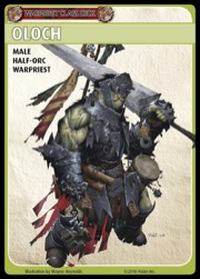 Pathfinder Adventure Card Game—Class Deck: Warpriest