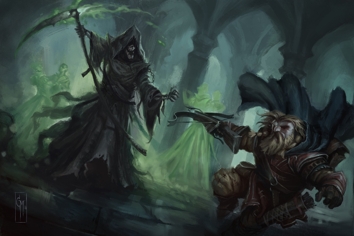 Harsk vs the Grim Reaper