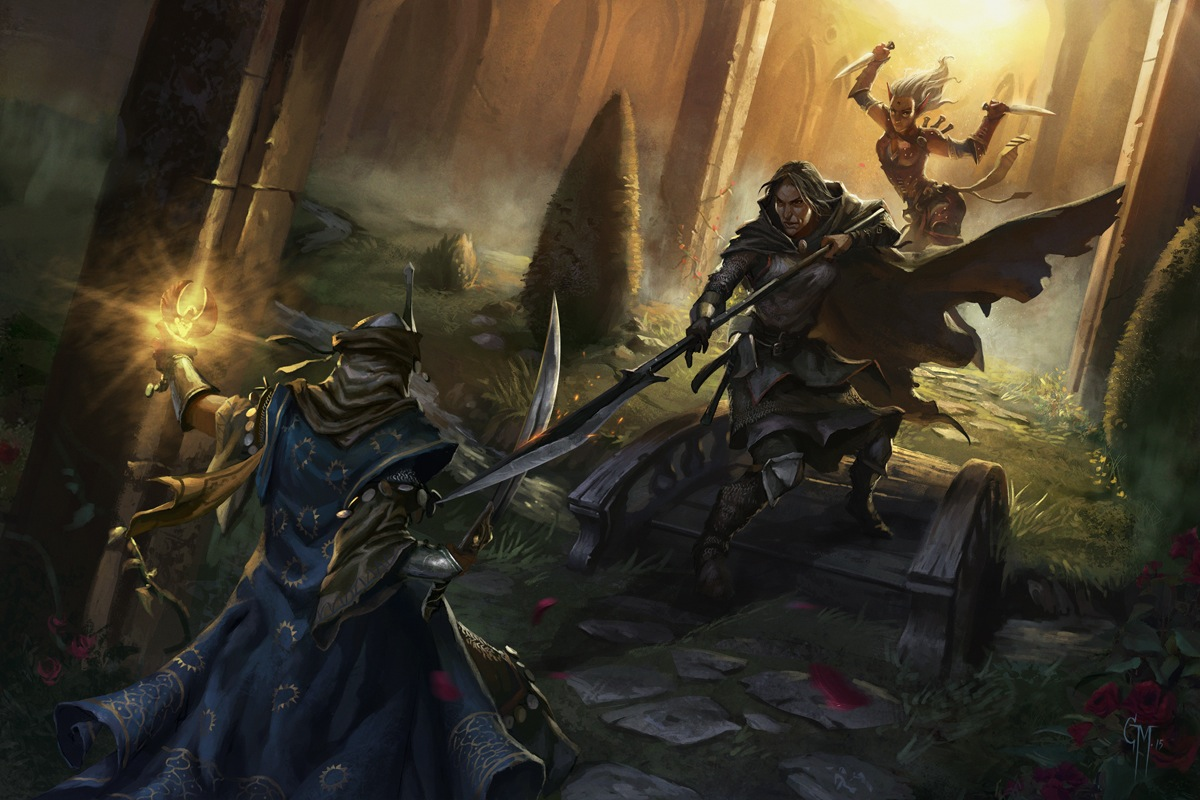 Image result for Pathfinder roleplaying game art