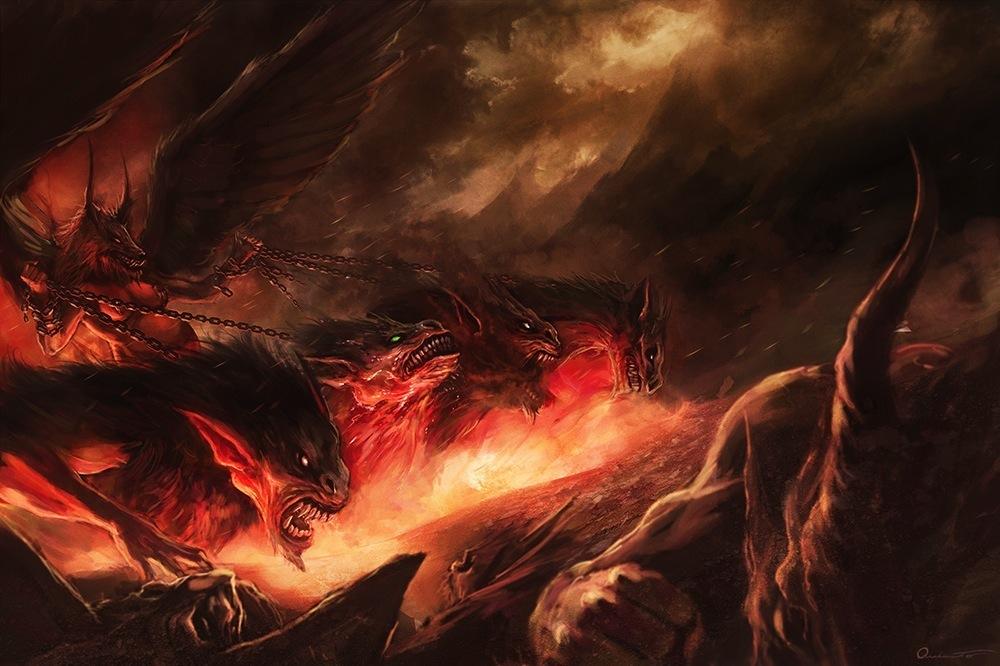 dragonadas varias  dioses del mar interior  ilustraciones