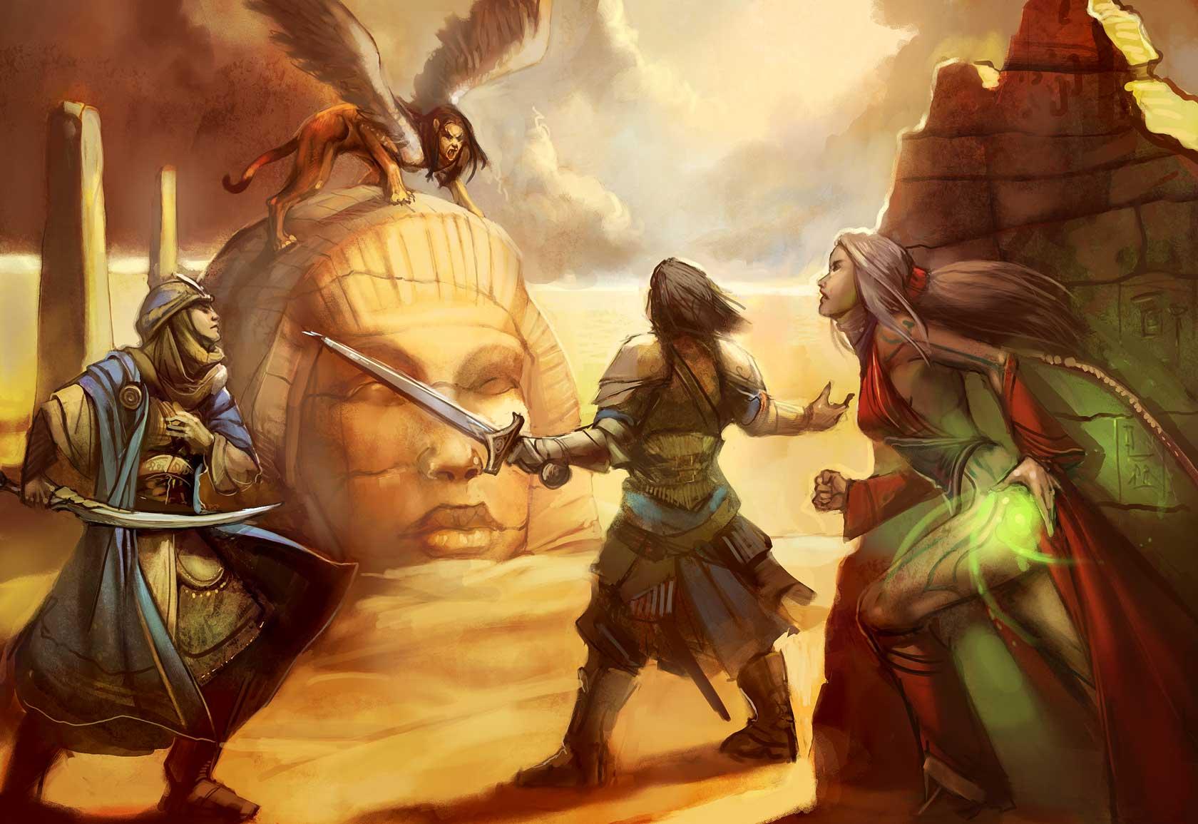 Compendio de Monstruos PZO1105-Sphinx