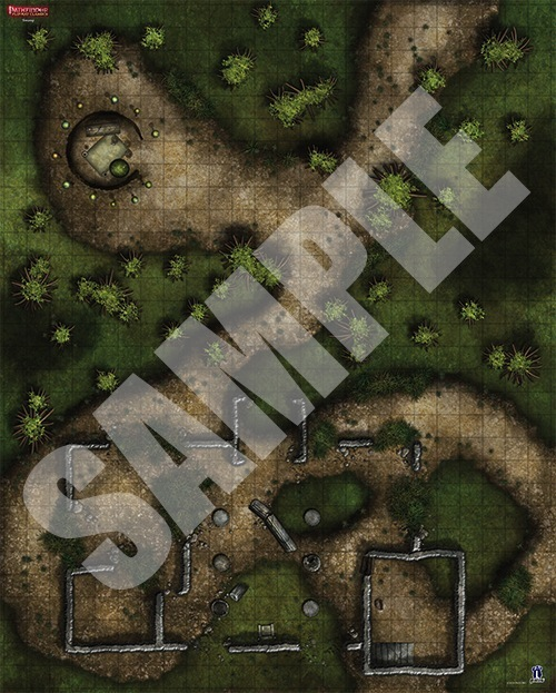 Paizo Com Pathfinder Flip Mat Classics Swamp
