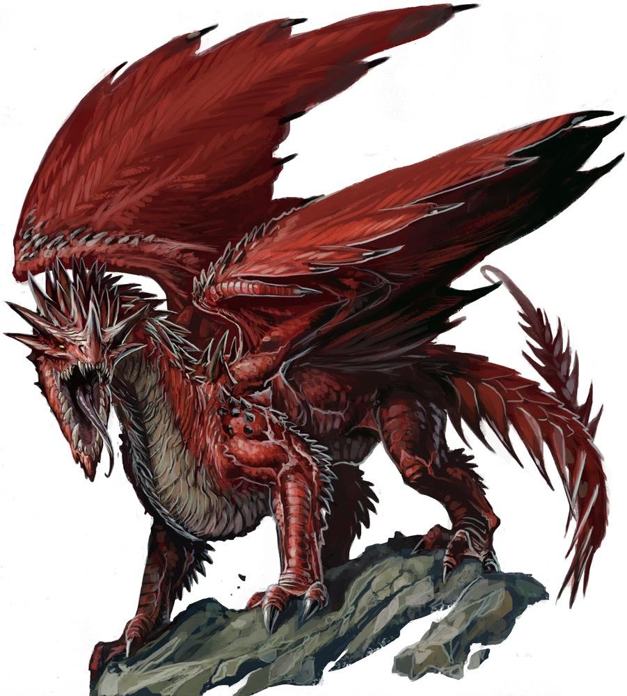 Monstruos de Rango S PZO1001-RedDragon