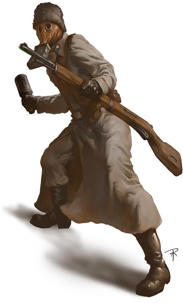 machine soldier pathfinder