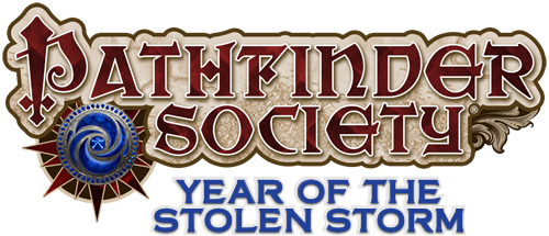 Pathfinder Society: Year of the Stolen Storm