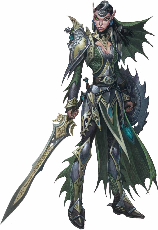 elves pathfinder obsidian portal