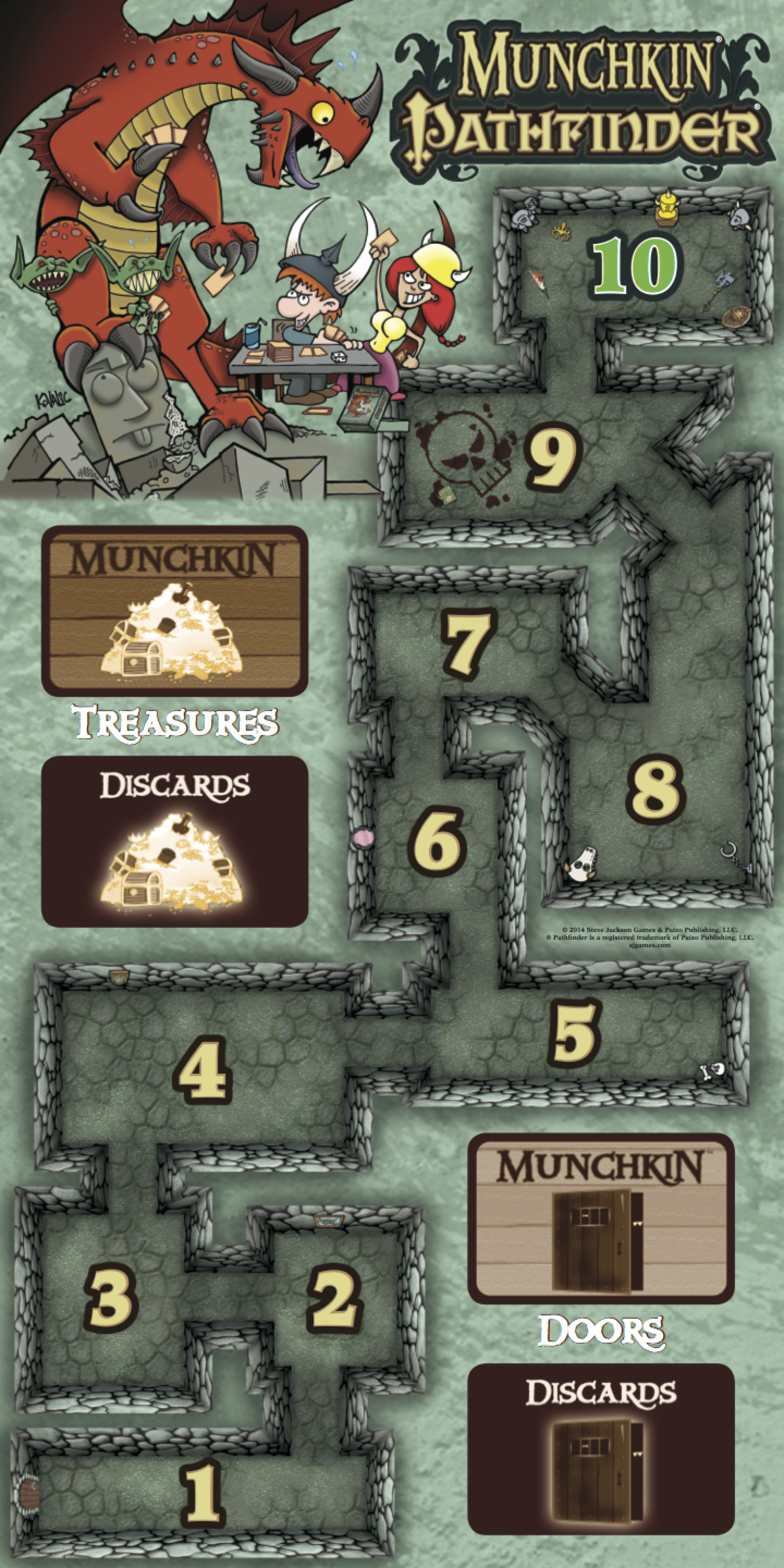 munchkin deluxe how to play