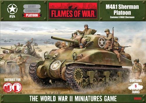 Flames of War: M4AI Sherman