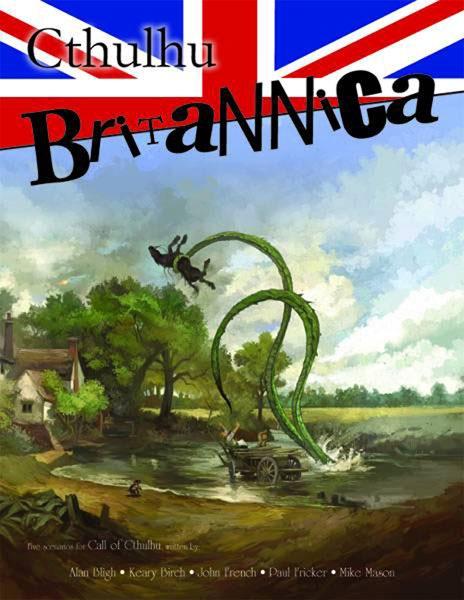 Portada de Cthulhu Britannica