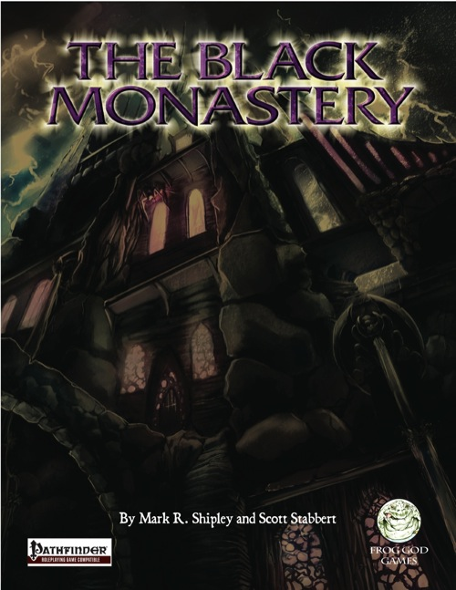 Cover of The Black Monastery