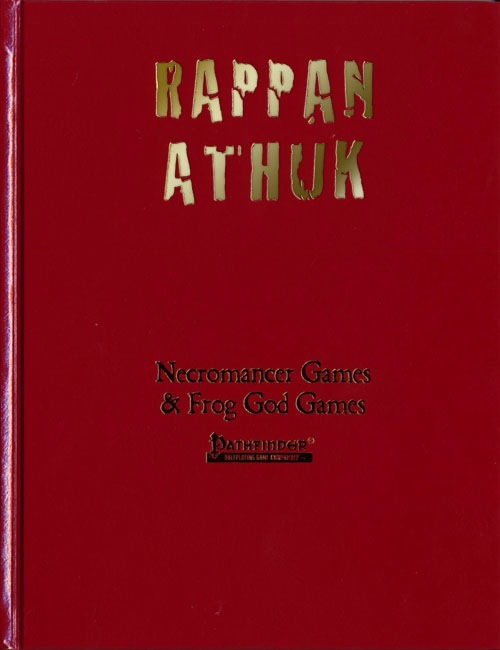 Cover of Rappan Athuk - The Dungeon of Graves