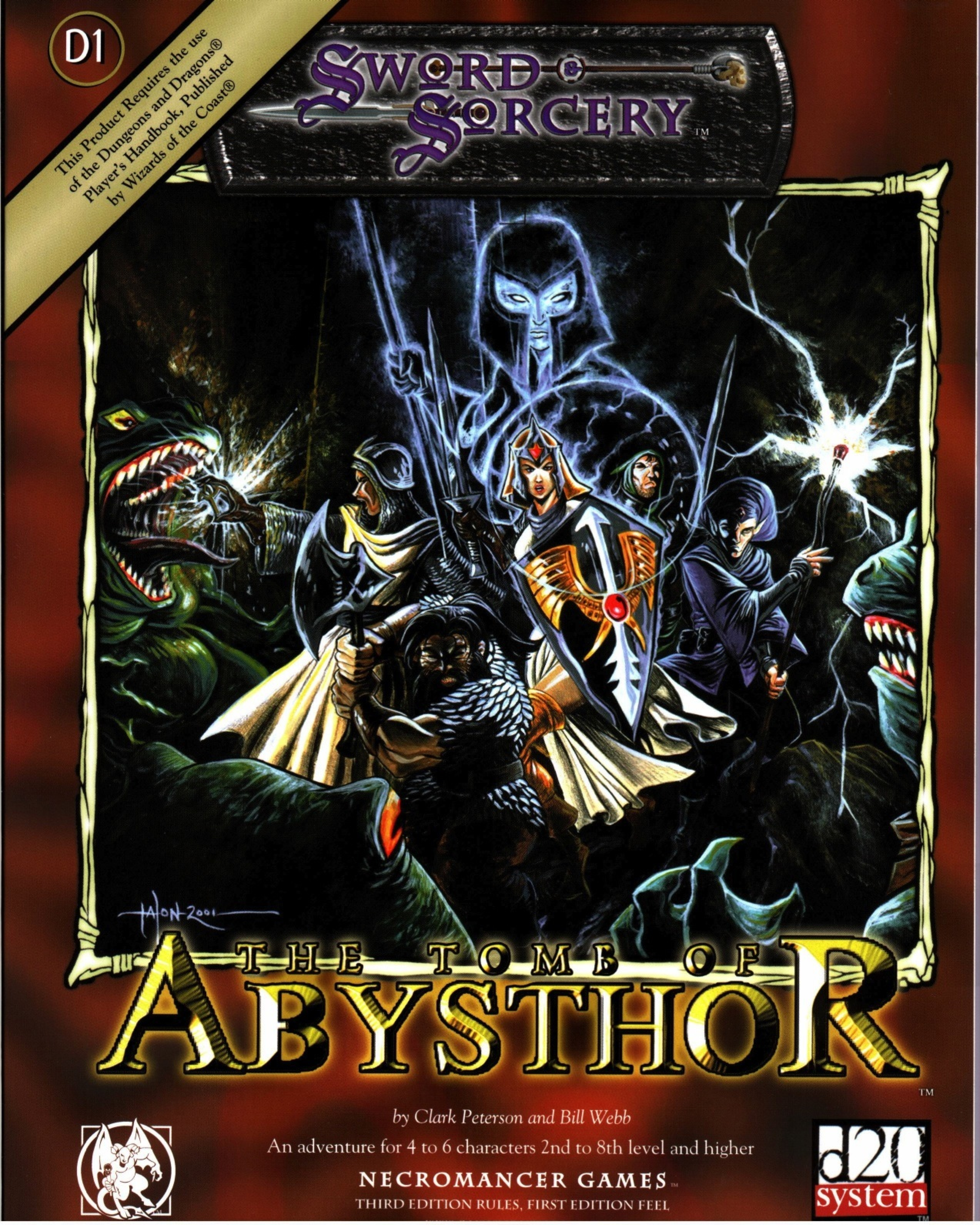Cover of Tomb of Abysthor